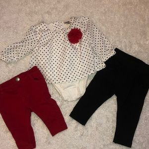 Other - Girls size 0-3 and 3-6 month clothing